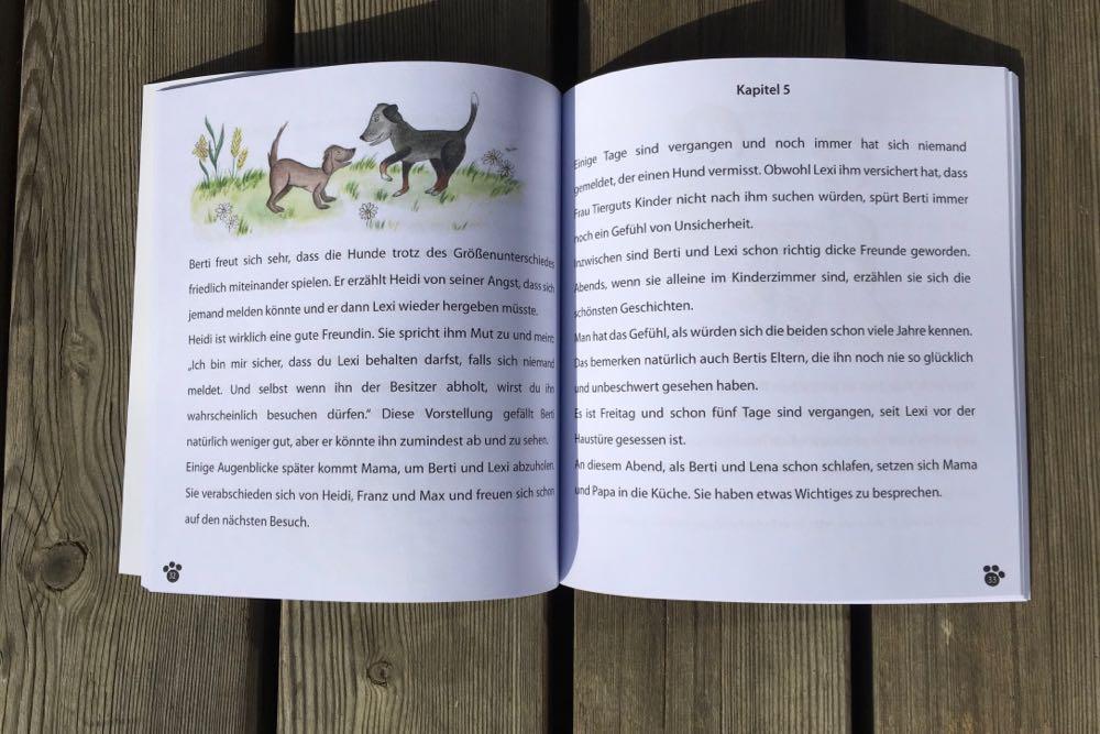 Buch BERTI und LEXI
