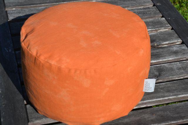 Yogakissenbezug Orange